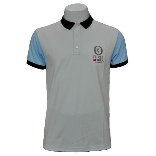 Polo Channel3  (Grey)<br / > เสื้อโปโล สีเทาอ่อน