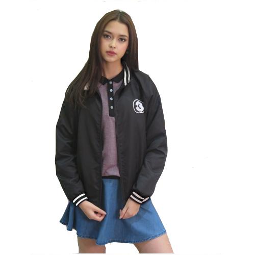 Jacket Channel3 (Black) <br>เสื้อแจ็คเก็ตสีดำ