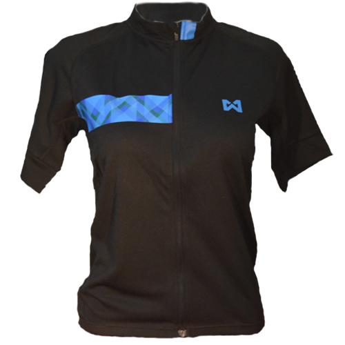 Men''s Sportswear Style 3 เสื้อจักรยานผู้ชาย แบบที่ 3 สีดำแถบฟ้า