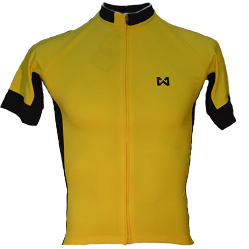 Men's Sportswear Style 4 เสื้อจักรยานผู้ชาย แบบที่ 4 สีเหลือง