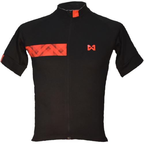 Men''s Sportswear Style 3 เสื้อจักรยานผู้ชาย แบบที่ 3 สีดำแถบแดง