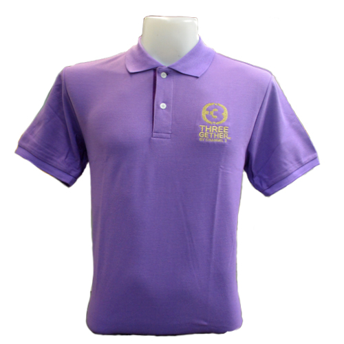 Polo Man (Purple)  <br />เสื้อโปโลผู้ชายสีม่วง