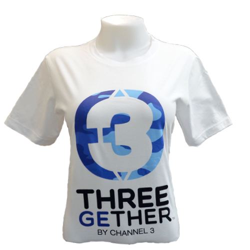 T-Shirt Unisex (White) เสื้อยืดสีขาว