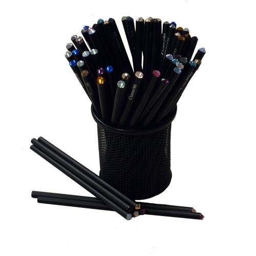 Pencil <br />ดินสอไม้ ประดับคริสตัล Swarovski แท้