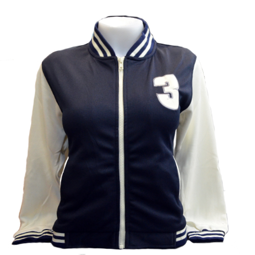 Jacket Channel3 (Navy/Cream) <br />เสื้อแจ็คเก็ตสีกรมครีม