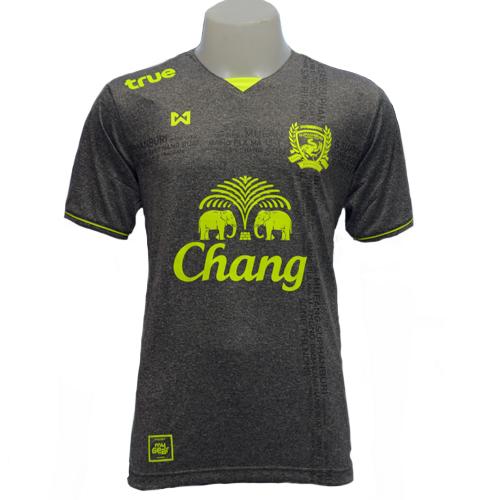 T-Shirt Suphanburi FC (Grey) เสื้อแข่งสุพรรณบุรี เอฟซี (สีเทา)