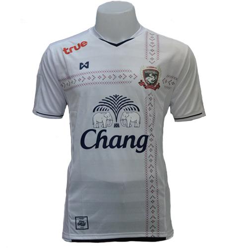 T-Shirt Suphanburi FC Away Team (White) เสื้อแข่งสุพรรณบุรี เอฟซี ทีมเยือน (สีขาว)