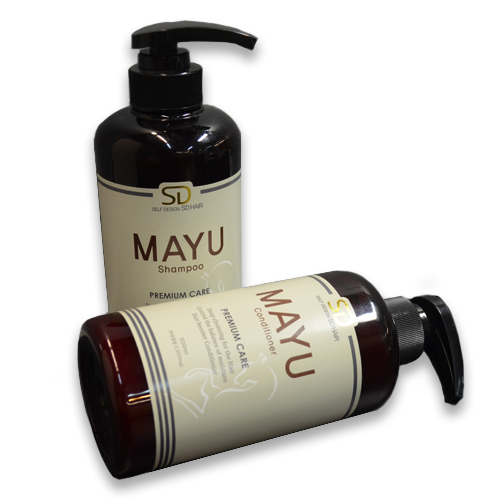 SD HAIR MAYU(HORSE OIL) SHAMPOO & CONDITIONER