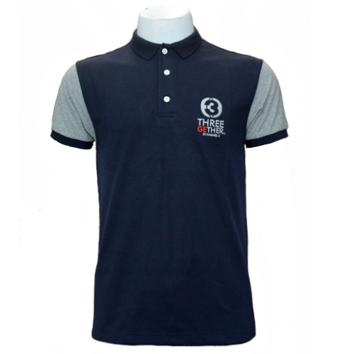 Polo Channel3 (Navy) เสื้อโปโล สีกรม