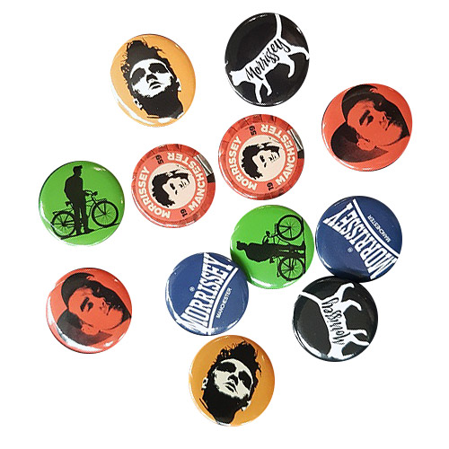 Morrissey Badge Set