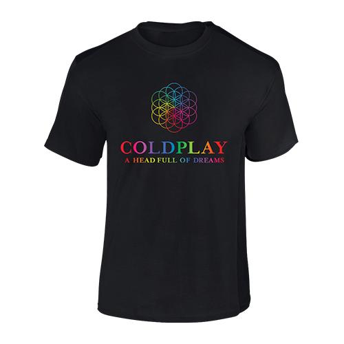 Coldplay FOL Black TS