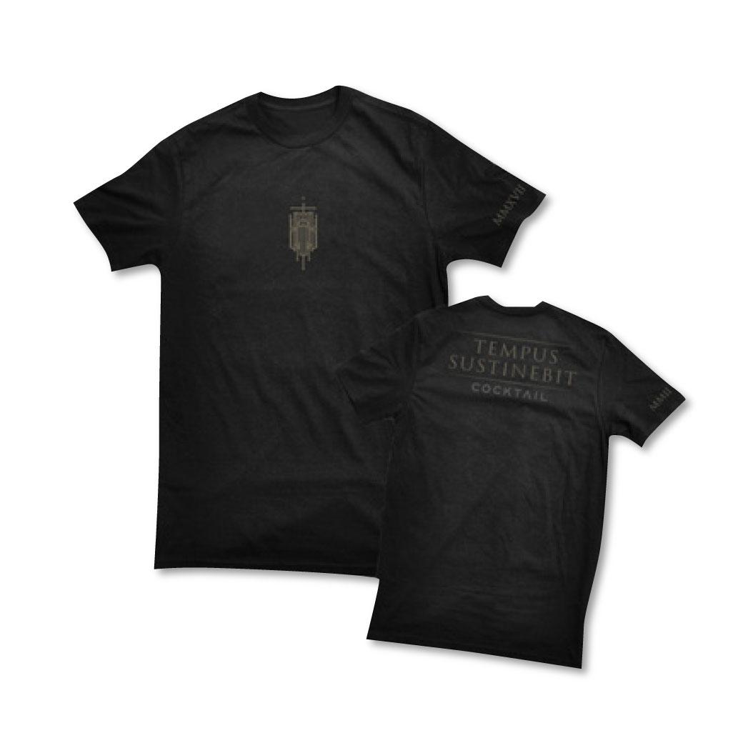 Pre Order เสื้อยืด COCKTAIL TEMPUS SUSTINEBIT