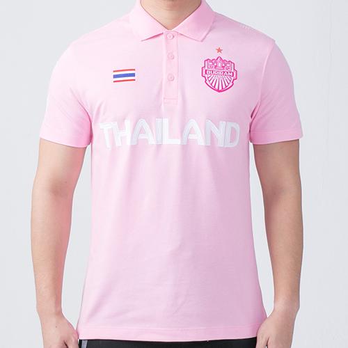เสื้อโปโล 2016 สีชมพู
