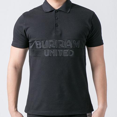 เสื้อโปโล BRUTD สีดำ/ดำ