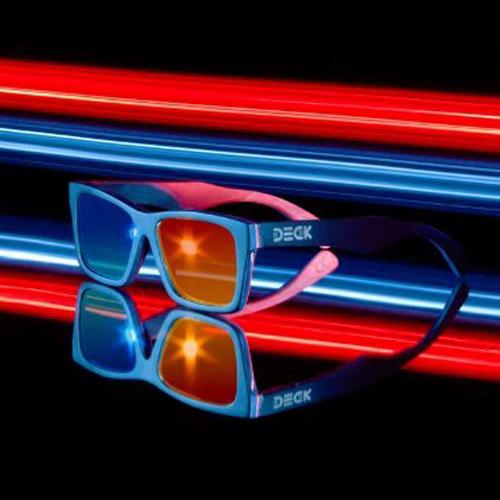 แว่น DECK รุ่น Popcorn Black 3D