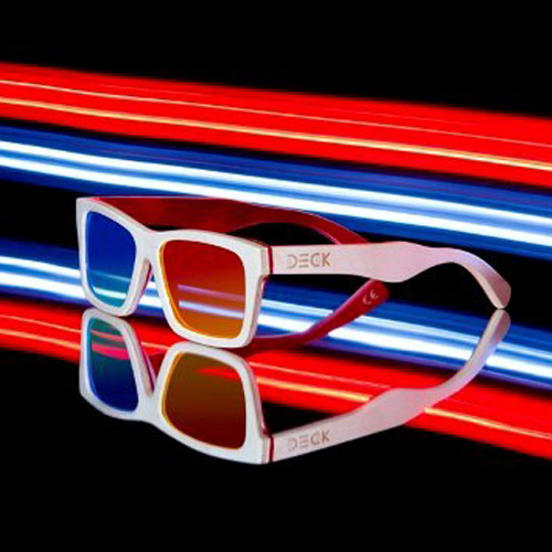 แว่น DECK รุ่น Popcorn Nature 3D
