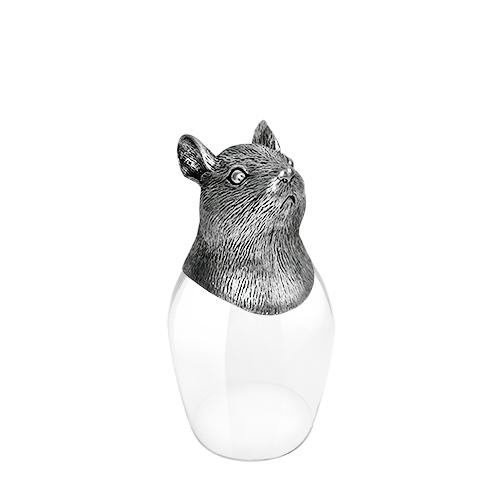 Wine Glass 12 Chinese Zodiac - Mouse