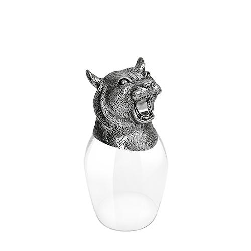 Wine Glass 12 Chinese Zodiac - Tiger