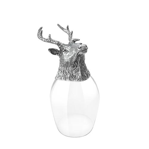 Wine Glass Deer