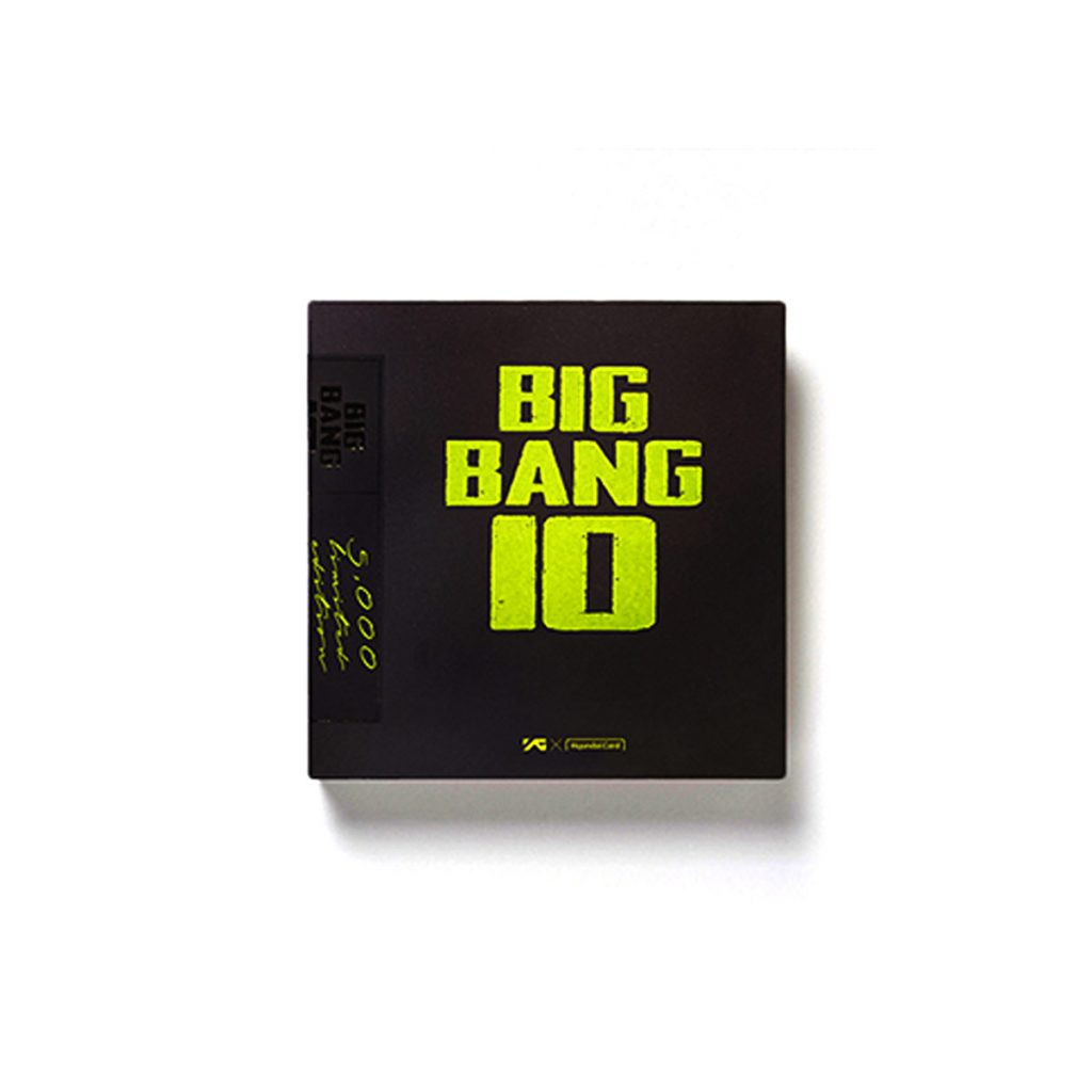 (PRE-ORDER)BIGBANG10 THE VINYL LP : LIMITED EDITION