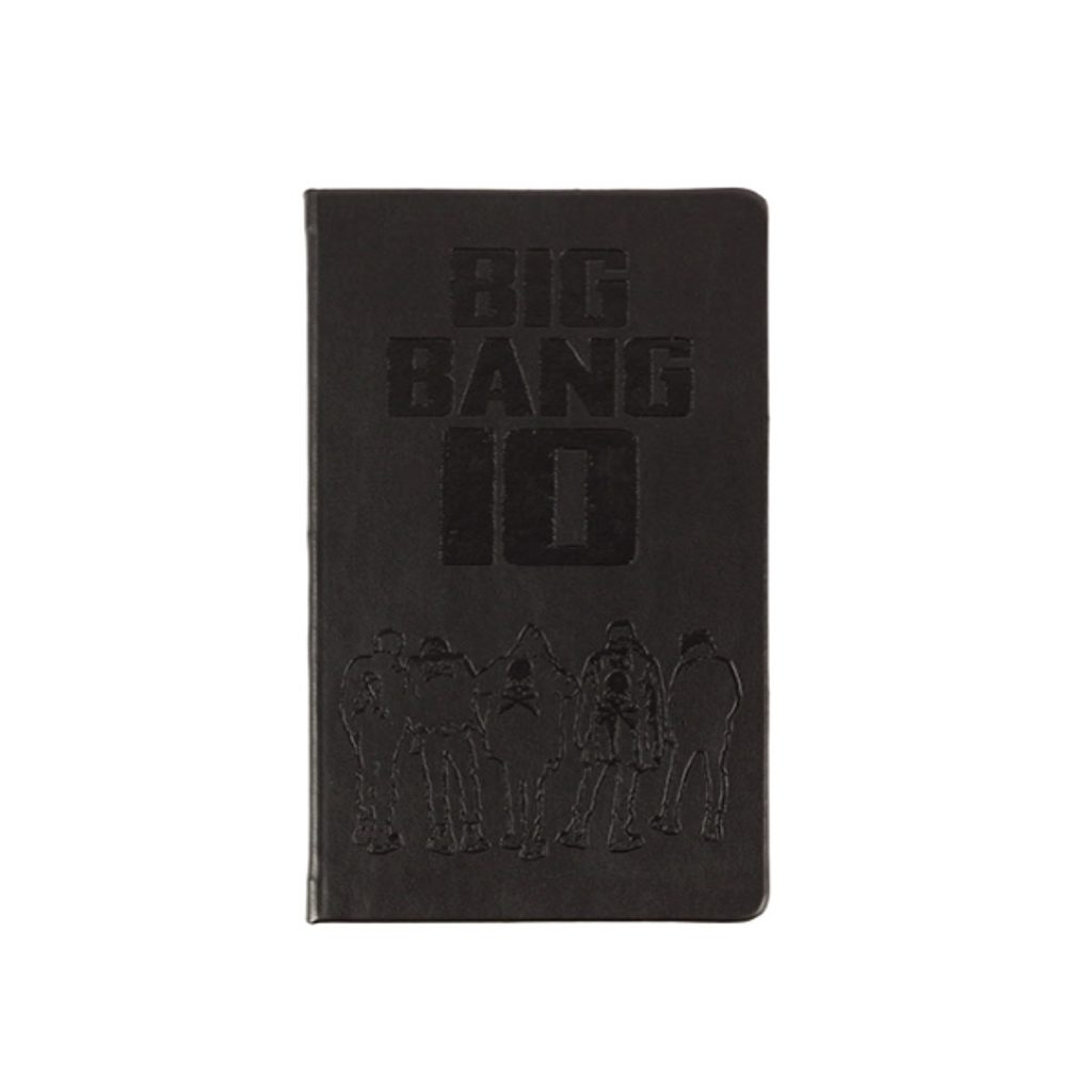 (PRE-ORDER)[10th] BIGBANG HARDCOVER NOTEBOOK