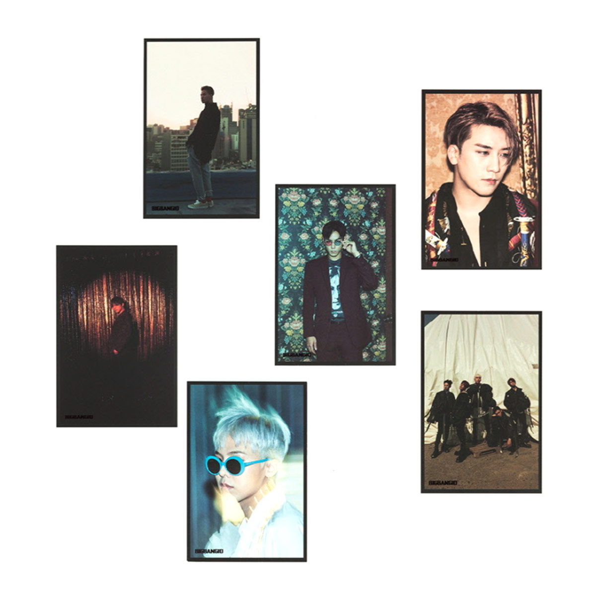 (PRE-ORDER) [10th] BIGBANG POSTCARD SET_TYPE B
