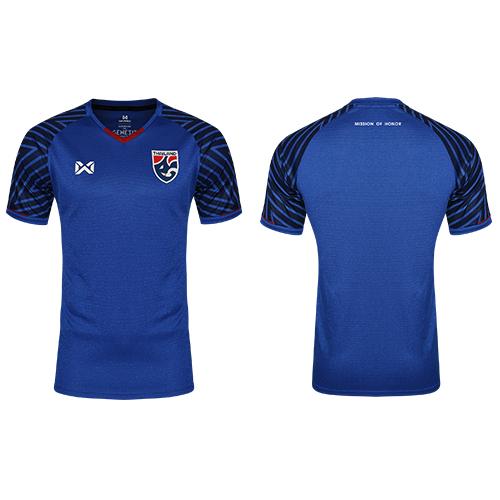 เสื้อเชียร์ทีมชาติไทย 2018 (ผู้ชาย) สีน้ำเงิน