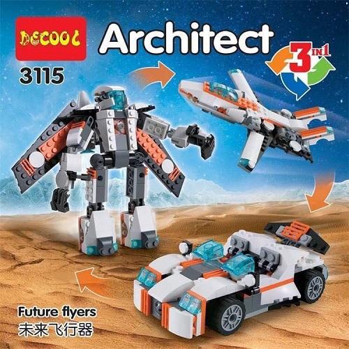 Brick Toys:  Architect