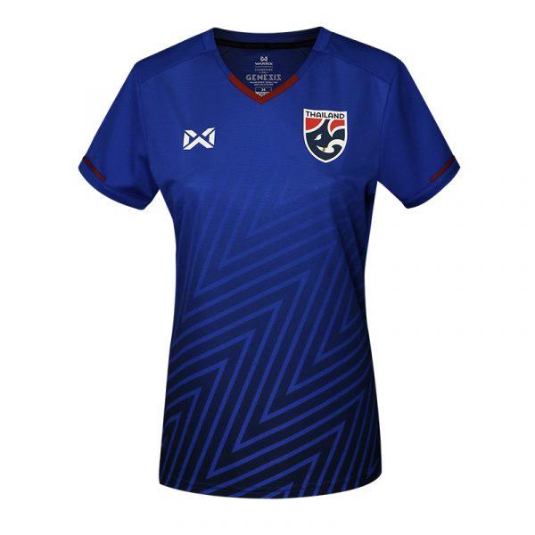 เสื้อเชียร์ฟุตบอล(ผู้หญิง)ทีมชาติไทย2018 สีน้ำเงิน (V.2)