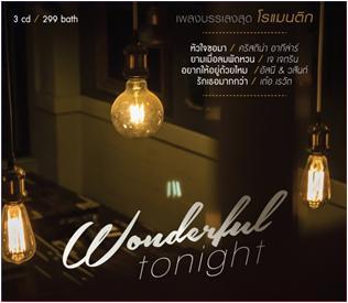 CD Wonderful Tonight (เพลงบรรเลง)