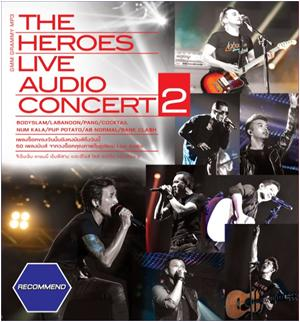 MP3 The Heroes Live Audio Concert 2