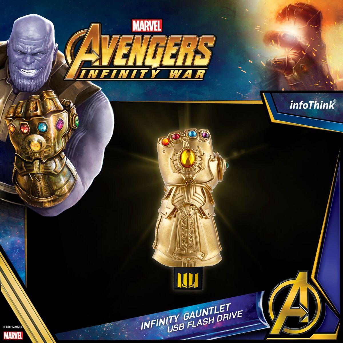 Avengers 3- Infinity Gauntlet USB Flash Drive 8G