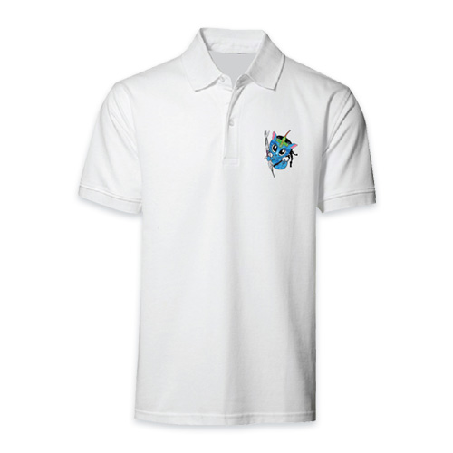 AVATAR Polo 3 White