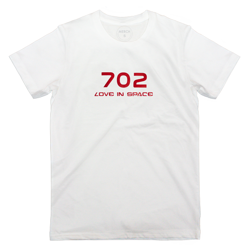 T-shirt : 702 IN SPACE_RED