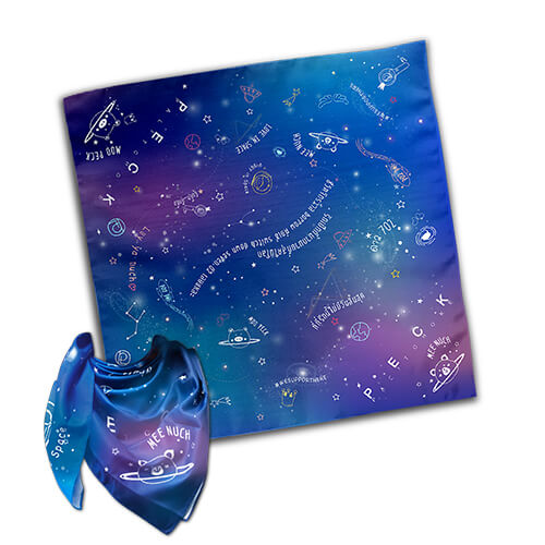 SCARF IN SPACE