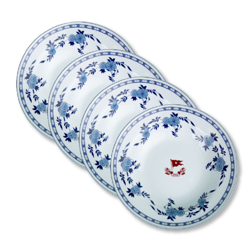 China 2nd class soup bowl set 4 pcs.