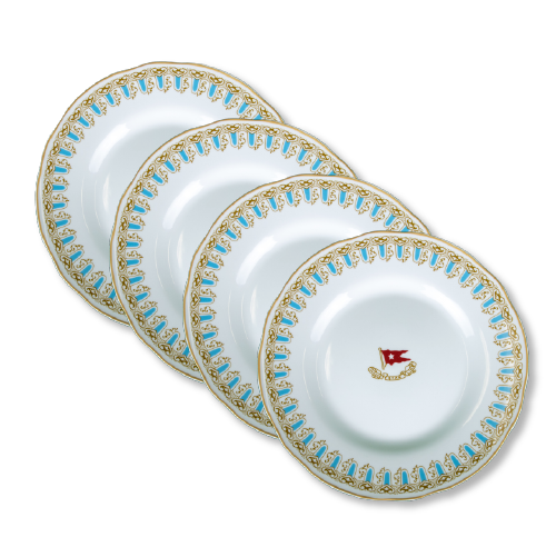 Wisteria dinner plate set 4 pcs.