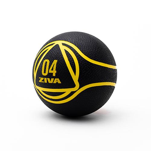 Ziva Medicine Ball Black (4 kg)