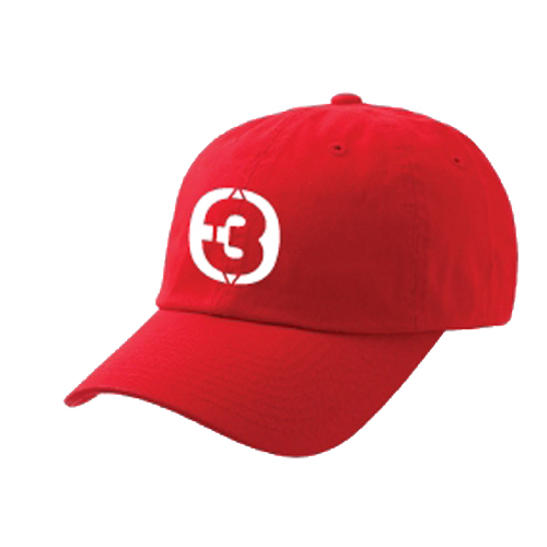 Cap THREE GETHER (Red) <br />หมวกสีแดง