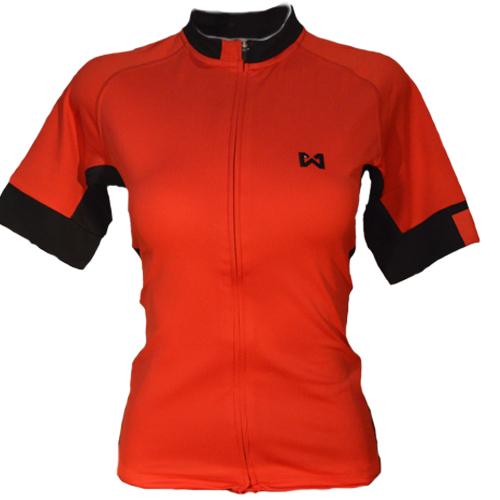Women''s Sportswear Style 4 เสื้อจักรยานผู้หญิง แบบที่ 4 สีแดง