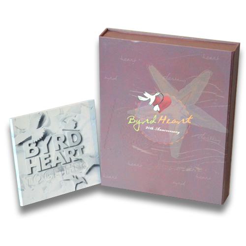 DVD Boxset Bird & Heart Limited Edition กล่องบันทึกเรื่องราวชีวิต เบิร์ดกับฮาร์ท