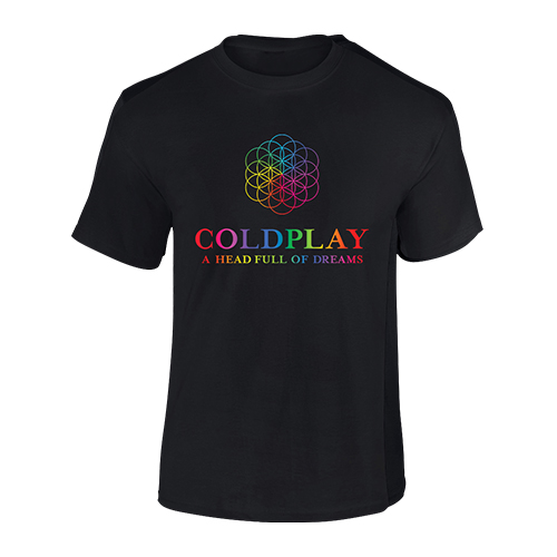 Coldplay FOL Black TS