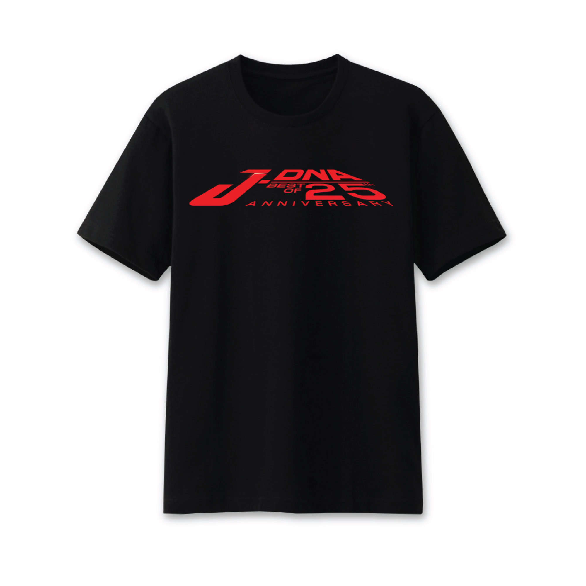 Pre-Order T-Shirt สีดำ Logo J-DNA 25 TH