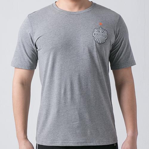 เสื้อ T-shirt โลโก้อกหน้า เทา