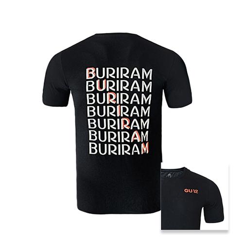 เสื้อ T-shirt GU12 ดำ