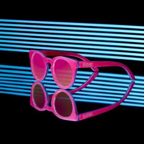 แว่น DECK รุ่น Owl Pink L''amour
