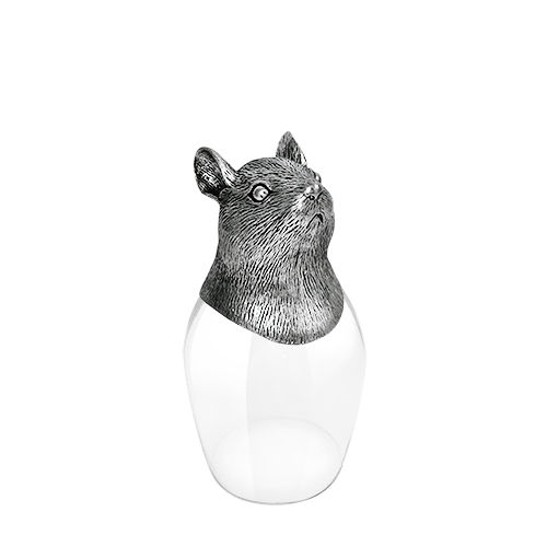 Wine Glass 12 Chinese Zodiac - Mouse