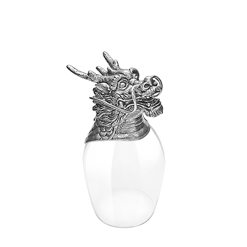 Wine Glass 12 Chinese Zodiac - Dragon