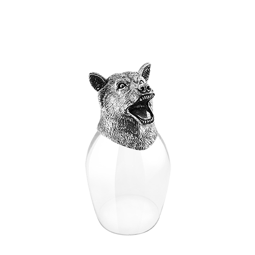 Wine Glass 12 Chinese Zodiac - Fox