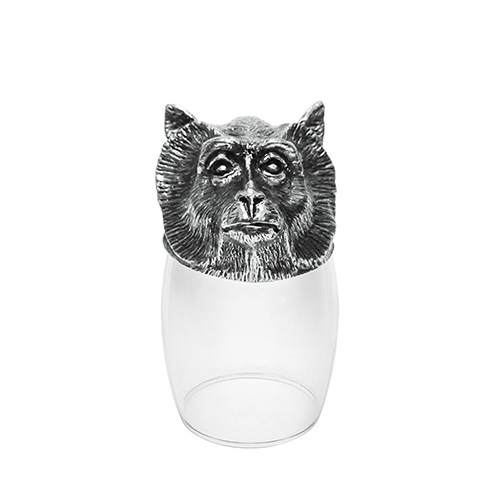 Shot Glass 12 Chinese Zodiac - Monkey